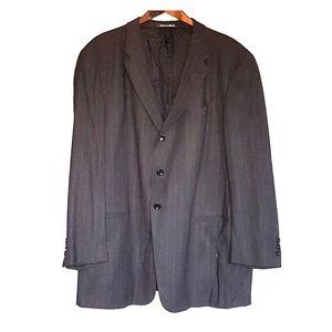 Armani collezioni black formal suit blazer jacket